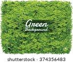 leaf background wallpaper | Shutterstock .eps vector #374356483