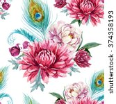 Watercolor Pattern With...