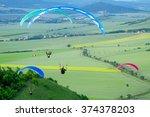 Paraglider. Parachuter....