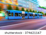 creative abstract city... | Shutterstock . vector #374621167