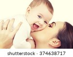 family  child and parenthood... | Shutterstock . vector #374638717