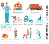 info graphic of business...   Shutterstock .eps vector #374661187