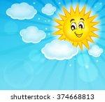 happy sun topic image 2   eps10 ...