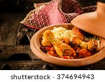 Close Up Of Traditional Tajine...