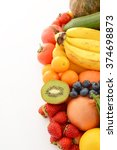 fresh fruits and vegetables | Shutterstock . vector #374698873