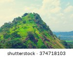 sri lanka tropical forest and... | Shutterstock . vector #374718103