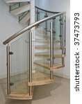 Solid Newel Stairs With Wooden...