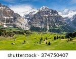 Grindelwald Landscape ...