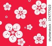 vector illustration of sakura... | Shutterstock .eps vector #374777023