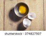 duck eggs in cups   Shutterstock . vector #374827507