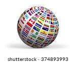 flags of the world. high... | Shutterstock . vector #374893993