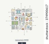 modern color vector concept ... | Shutterstock .eps vector #374900617