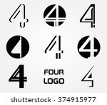 number 4 logo.vector logo...