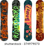 snowboard design pack with...