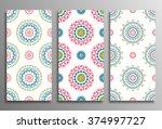 set vintage universal different ...   Shutterstock .eps vector #374997727