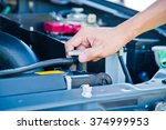 check the condition of the car ... | Shutterstock . vector #374999953