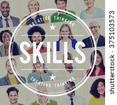 Small photo of Skills Talent Expert Aptitude Proficiency Professional Concept
