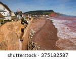 Sidmouth Beach And Coast Devon...