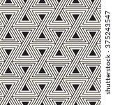 vector seamless pattern. modern ... | Shutterstock .eps vector #375243547