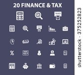 finance icons | Shutterstock .eps vector #375252823