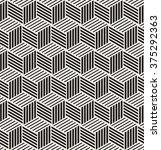 vector seamless pattern. modern ... | Shutterstock .eps vector #375292363