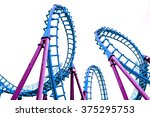 Pop Art Color Roller Coaster...