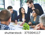 designers and architects... | Shutterstock . vector #375304117