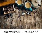 espresso.   Shutterstock . vector #375306577