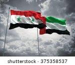 syria   united arab emirates... | Shutterstock . vector #375358537