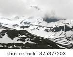 mountains in norway | Shutterstock . vector #375377203
