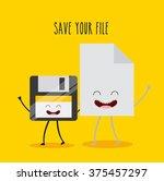 character gadget design  | Shutterstock .eps vector #375457297