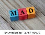 mad  moroccan dirham  symbol on ... | Shutterstock . vector #375470473