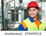 manual worker. | Shutterstock . vector #375499513