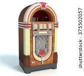 3d Illustration Of A Jukebox