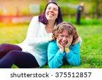 Portrait Of Happy Women With...