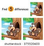 vector illustration of game for ... | Shutterstock .eps vector #375520603