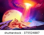 illustration  the magnificent... | Shutterstock . vector #375524887