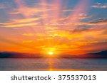 The Morning Sun In  Lake