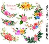 illustration of watercolor...   Shutterstock .eps vector #375630907