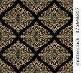 seamless oriental ornament in... | Shutterstock .eps vector #375646357