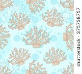 vector seamless pattern with... | Shutterstock .eps vector #375738757