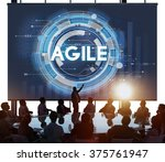 Small photo of Agile Fast Quick Nimble Technology Agility Concept