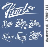 vector typographic illustration ... | Shutterstock .eps vector #375854563