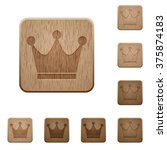 set of carved wooden premium...