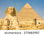 The Great Sphinx Of Giza With...