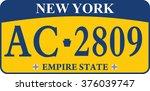 car registration number plates   Shutterstock .eps vector #376039747