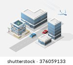 set of isolated high quality... | Shutterstock .eps vector #376059133