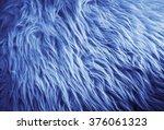 Faux Fur  Blue Filter .