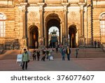 dresden  germany. 28 september... | Shutterstock . vector #376077607