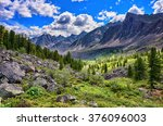 Beautiful Mountain Terrain In...